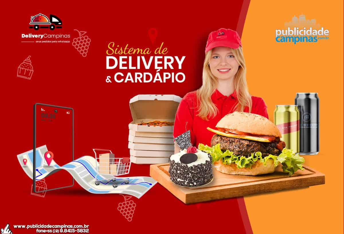 Delivery – Cardápio