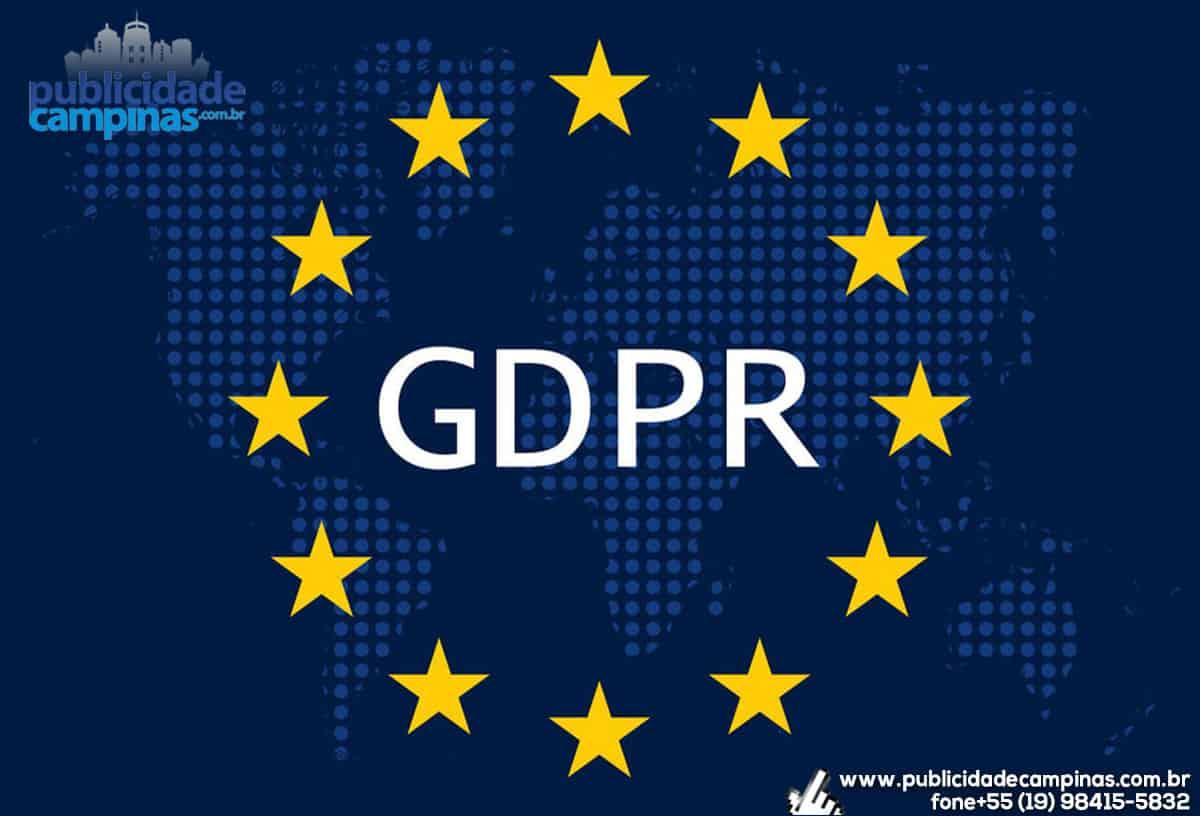 GDPR – Política de Privacidade
